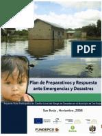 Plan+Emergencias San Borja Bolivia