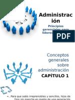 Administración 1. Principios gerenciales para líderes cristianos