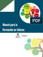 Manual Para La Formacion de Valores