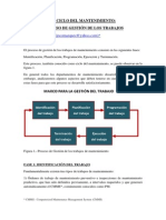 El Ciclo Del Mantenimiento-proceso de Gestión de Los Trabajos