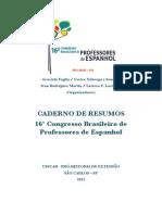Caderno de Resumos - Comunicações e Oficinas (16º CBPE)