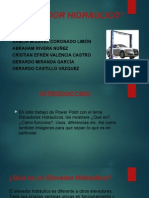 Tarea Elevador Hidraulico power point