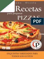 84 Recetas Para Preparar Pizzas - Mariano Orzola