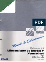 Manual Alineamiento Ruedas Neumaticos Medicios Ruedas Disco Rendimiento Uniformidad