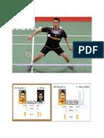 Buku Skrap Badminton