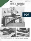 How to Build a Marimba