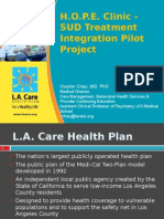 role of health plans 3 clayton chau