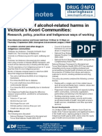 Prevention Alcohol Related Harms