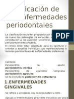 clasificacion de enf. periodontales