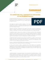 Communique  Eu2020 Strategy - cooperatives europe