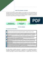 DIRECCIÓN GENERAL DE MINAS