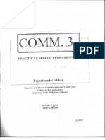 Comm 3 Book (Practical Speech Fundamentals)