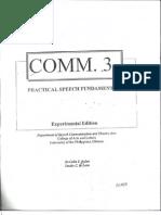 Comm 3 Book (Practical Speech Fundamentals)