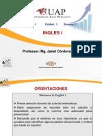 1st Week-English i