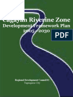 Cagayan Riverine Zone Development Framework Plan 2005_2030