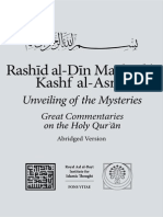 kashf al Asrar, unveling the mysteries of Holy Quran
