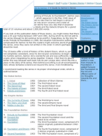 Series Guide - Kaedrin's Guide to Isaac Asimov