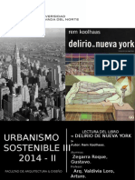 Lectura Del Libro - Delirious New York