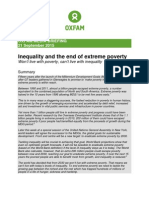 Inequality and the End of Extreme Poverty