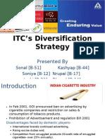 itc diversification case solution