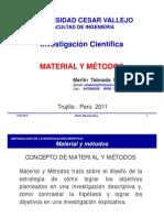 8. Material y Métodos 2012 [Modo de Compatibilidad]