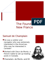 founding of new france settlement and colonization powerpoint