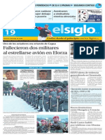Edición Impresa El Siglo 19-09-2015