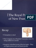 the royal province of new france powerpoint