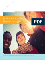 Guidebook on What Works for Depression in Young People (2013)