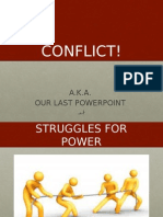 rivalry and conflict powerpoint - chapter 8