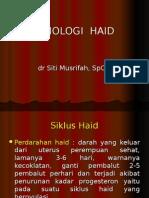 1. Fisiologi & Patologi Haid