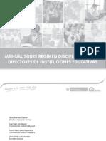Manual Régimen Disciplinario Para Directores_2015