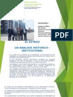 El Estado_ Un Analisis Historico - Institucional