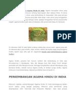 Sejarah Perkembangan Agama Hindu Di India