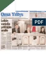 Kauppalehti_TI09.03.2010_yrityskylä_web