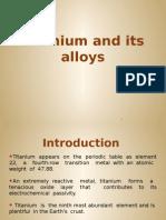 Titanium and Its Alloys