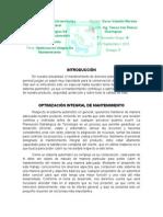OPTIMIZACIÓN INTEGRAL DE MANTENIMIENTO - Oscar Valentin Morales - 7° A