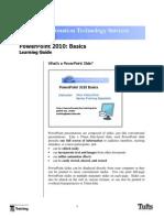 Powerpoint 10 Basics