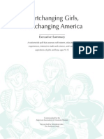 Shortchanging Girls Shortchanging America Executive Summary