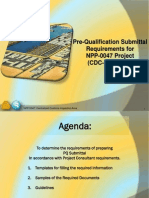 IDC Pre-Qualification Preparation - Presentation 1.1