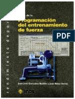 Bases teóricas de la programación del entrenamiento de la fuerza