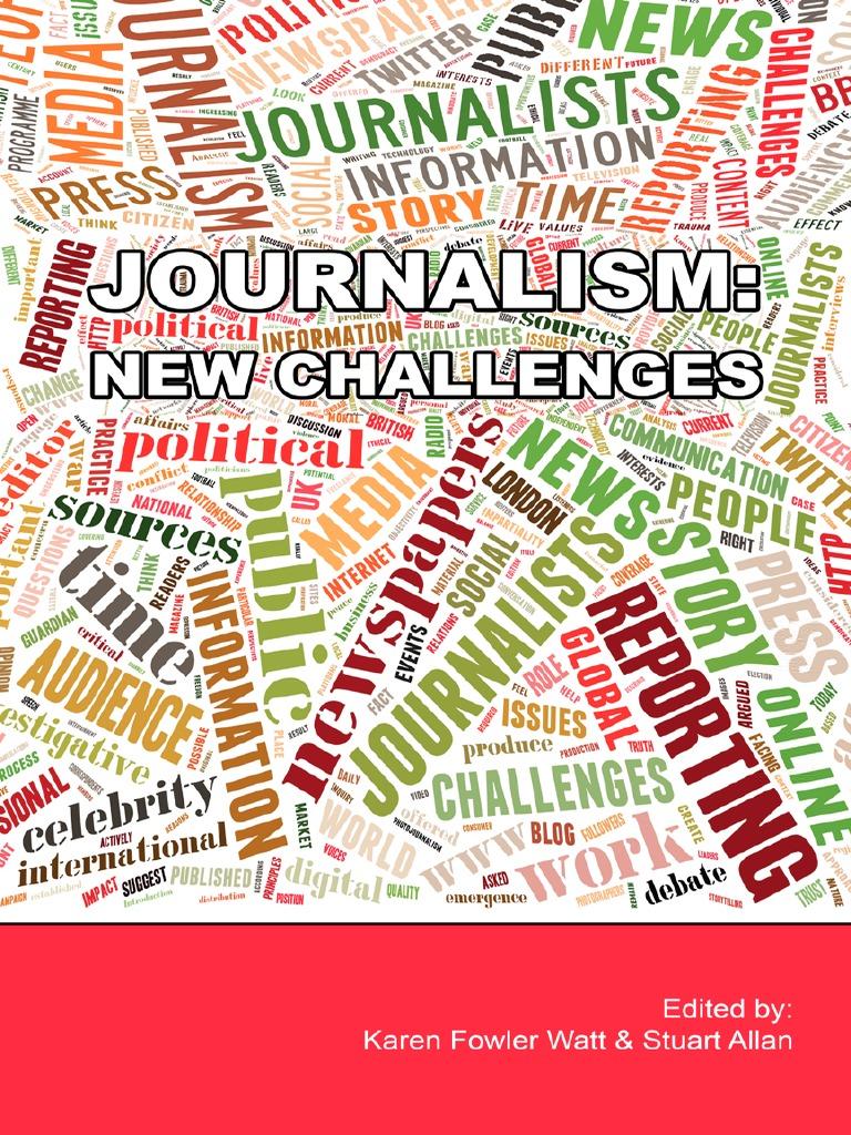 Journalism new challenges journalism news fandeluxe Gallery