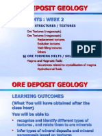 Ore Deposits Geology Week 2asasdsd