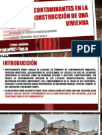 CONTAMINANTES EN CONSTRUCCION-civil