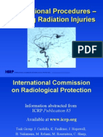 Interventional Procedures – Avoiding Radiation Injuries