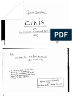 Cinis - Franco Donatoni