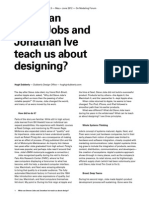 15. What Steve Jobs and Jonathan Ive Teach Us About Designing
