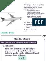 Bab 7 Mekanika Fluida
