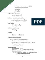 CFIN Formula Sheet Updated