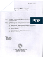 SOL BA Program 1st Year Education Study Material and Syllabus In English